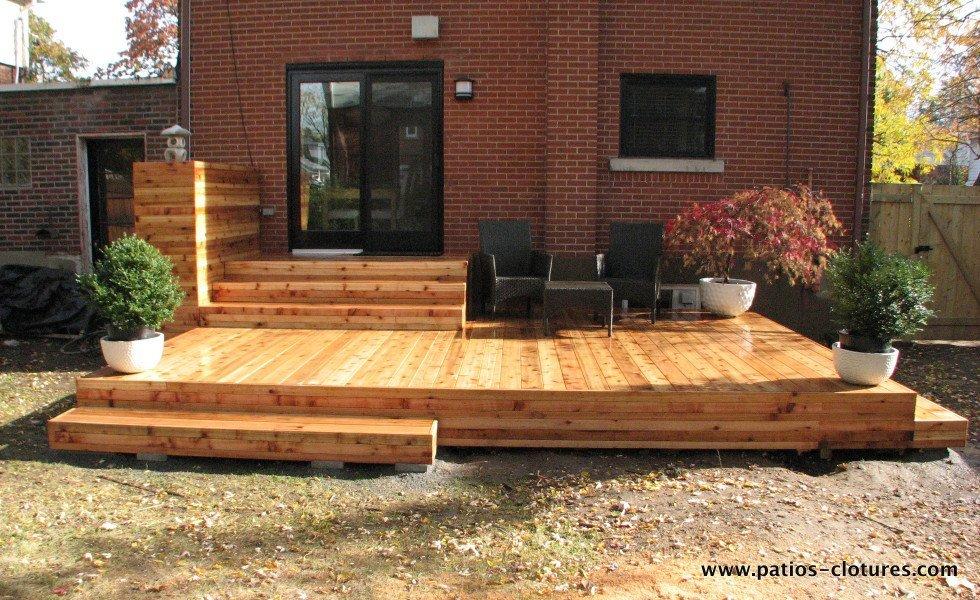 patio pelletier patios et cl tures beaulieu. Black Bedroom Furniture Sets. Home Design Ideas