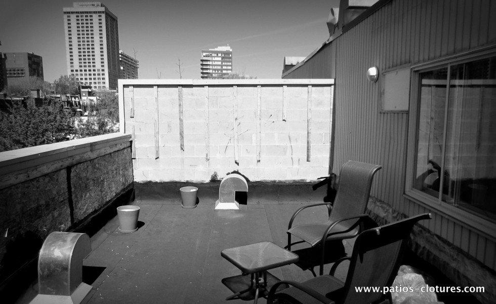 Terrasse sur le toit Coquereau - avant 1