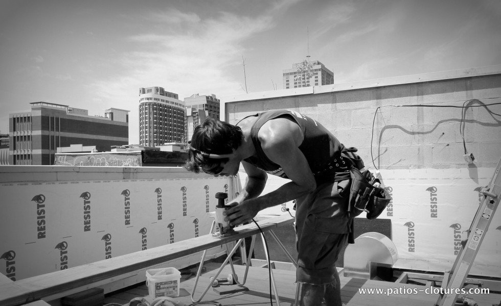Terrasse sur le toit Coquereau - avant 4