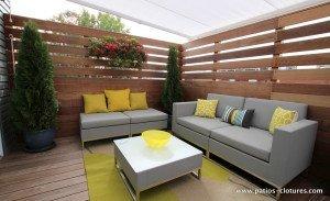 Salon de la terrasse sur le toit de Patrice Coquereau