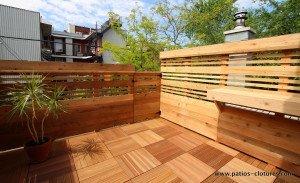 Terrasse sur le toit Boivin