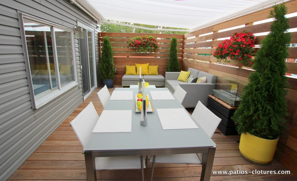 Rooftop terrace in Ipe Coquereau 1