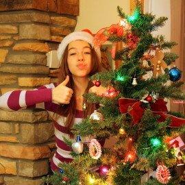 Comment décorer son patioen bois pour Noël