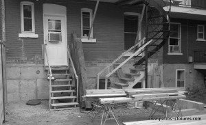Construction balcon en cèdre à Montréal Dalpé