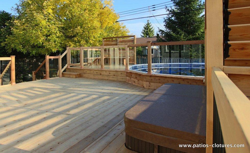 D coration terrasse piscine hors terre 33 mulhouse for Piscine jardin toulouse