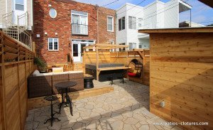 patio avec spa Brouillette - 9