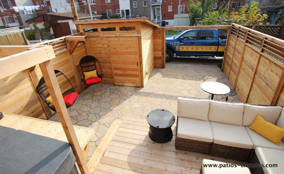 1344 patio avec spa Brouillette – 10