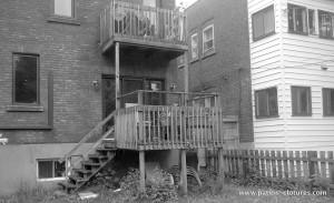 Patio deux étages Marquis - Avant