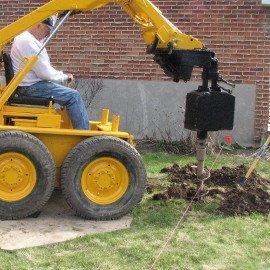 Construction de patio, informez vous avant de creuser
