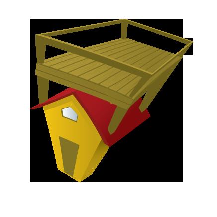 Patios terrasse sur le toit