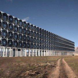 Une machine canadienne capable d'absorber le CO2 de l'atmosphère tout comme les arbres le font