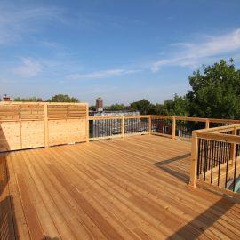 Construction d'une terrasse sur le toit à Montréal - La réglementation expliquée
