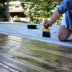 Quelle est la meilleure saison pour les travaux de teinture pour patio ?