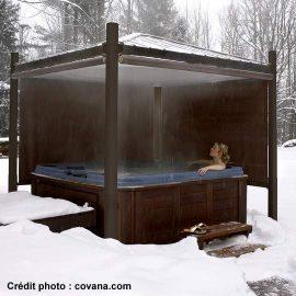 couvercle pour spa automatisé
