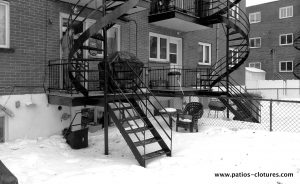 Before the construction of Blanchette patio. Photo 2