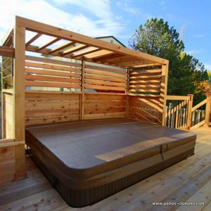 Louver system for decks by Pylex