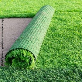 synthetic grass : more than true