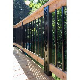 Poteaux personnalisés Dmarc pour rampes de patio