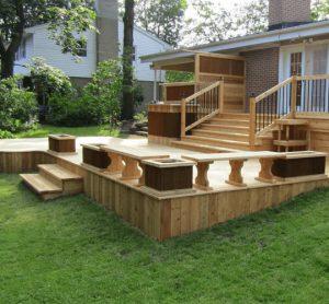 la bonne taille pour un patio avec coin bistro, table, barbecue, etc