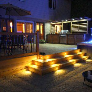 Éclairage pour patio 2