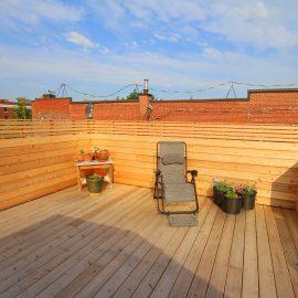 construire une terrasse sur le toit