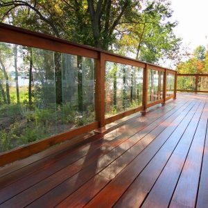 patio en bois ipé