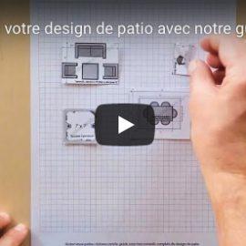Faites votre design de patio avec ce guide à découper pratique