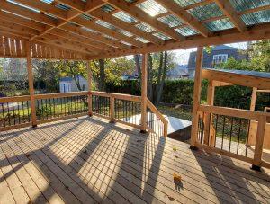 Suntuf - polycarbonate transparent pour toiture de patio