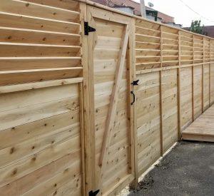 L'importance de la diagonale dans une porte clôture
