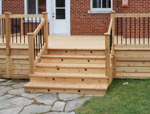 Contruire un escalier pour patio