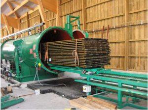 Le bois traité à l'autoclave - comment c'est fait