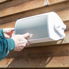 Outdoor-speaker-installation-lead
